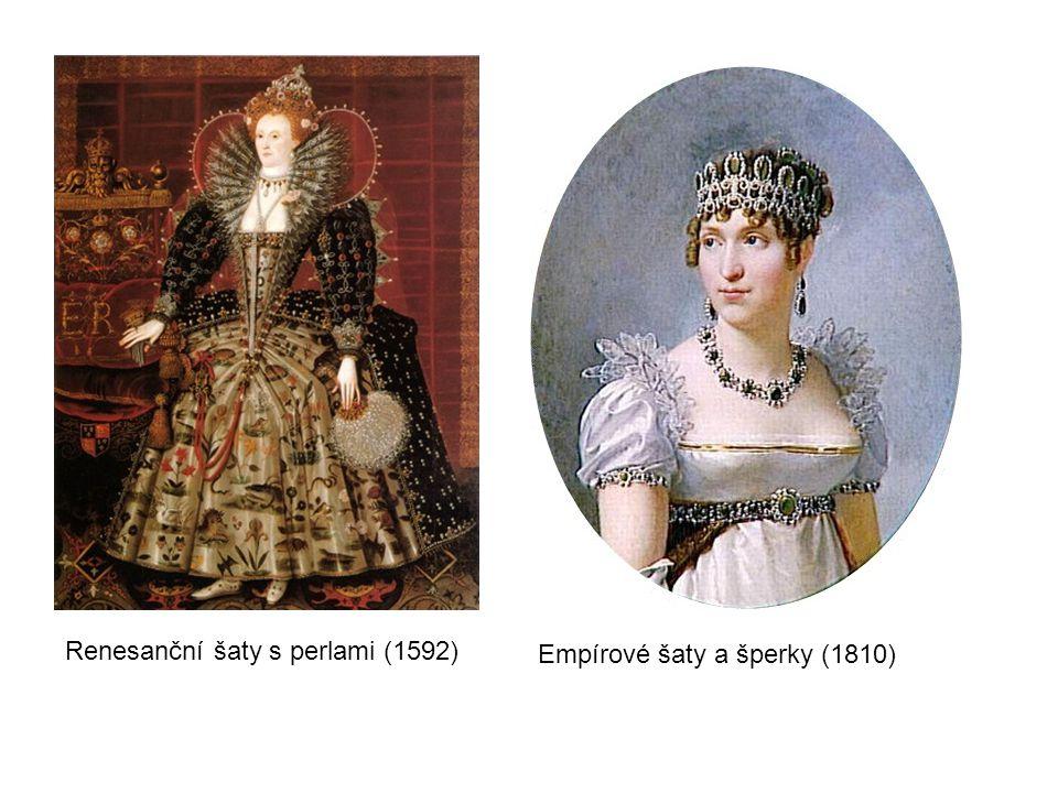 Renesanční šaty s perlami (1592)