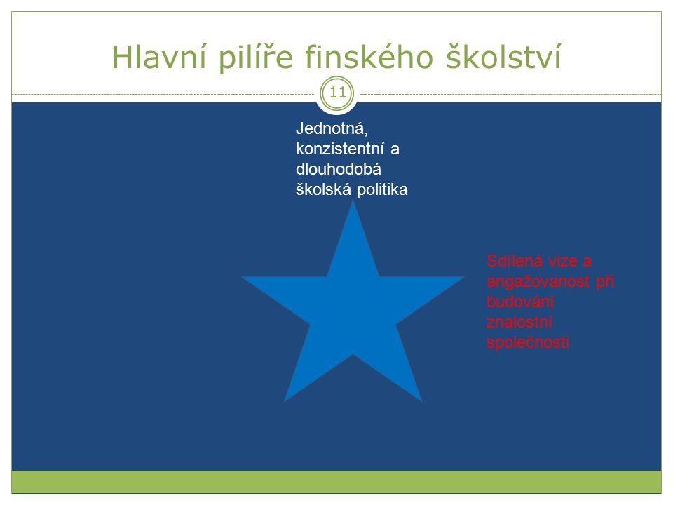 Hlavní pilíře finského školství