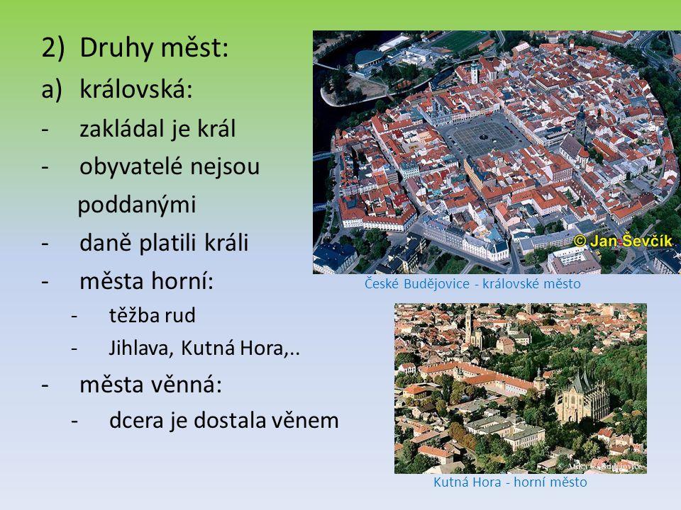 České Budějovice - královské město