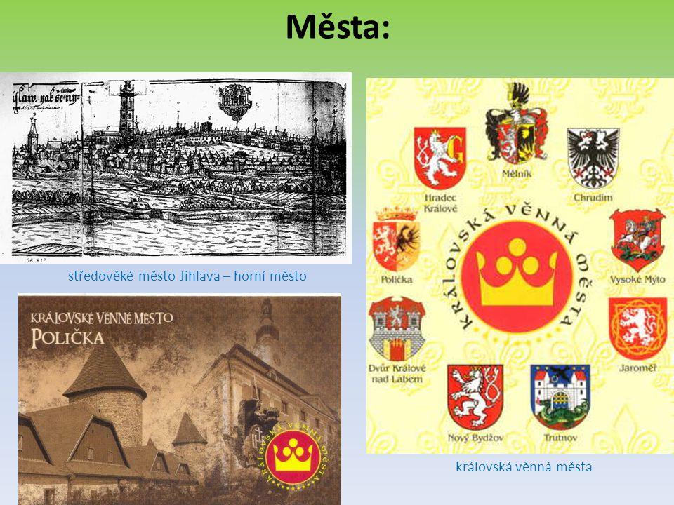 středověké město Jihlava – horní město