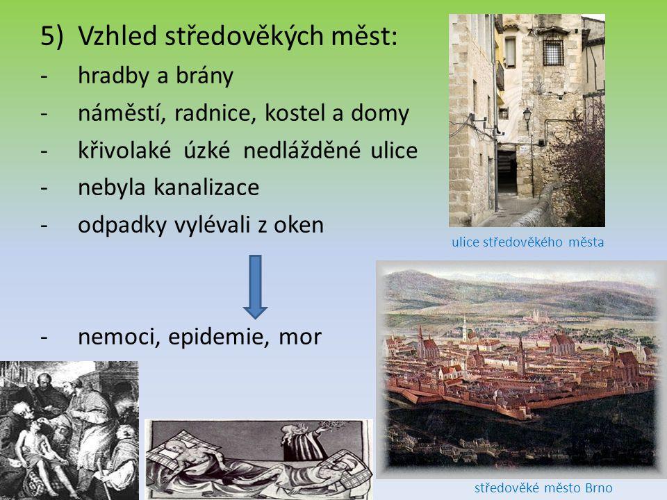 ulice středověkého města