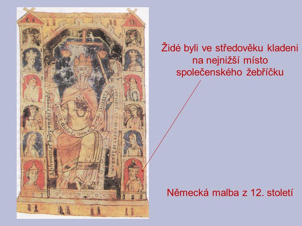Německá malba z 12. století