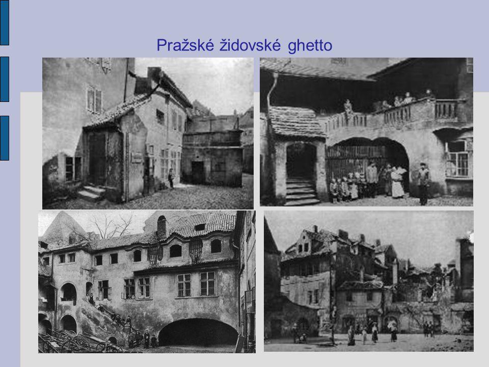 Pražské židovské ghetto