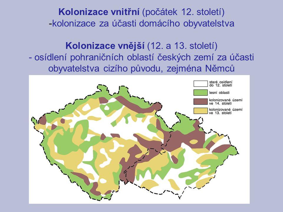 Kolonizace vnitřní (počátek 12. století)