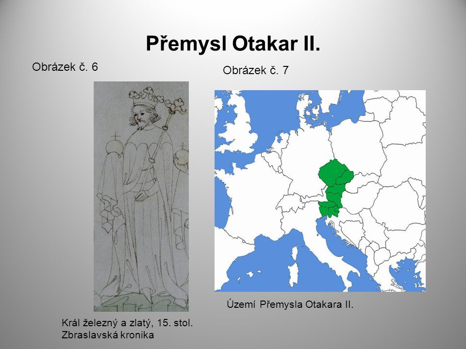 Přemysl Otakar II. Obrázek č. 6 Obrázek č. 7