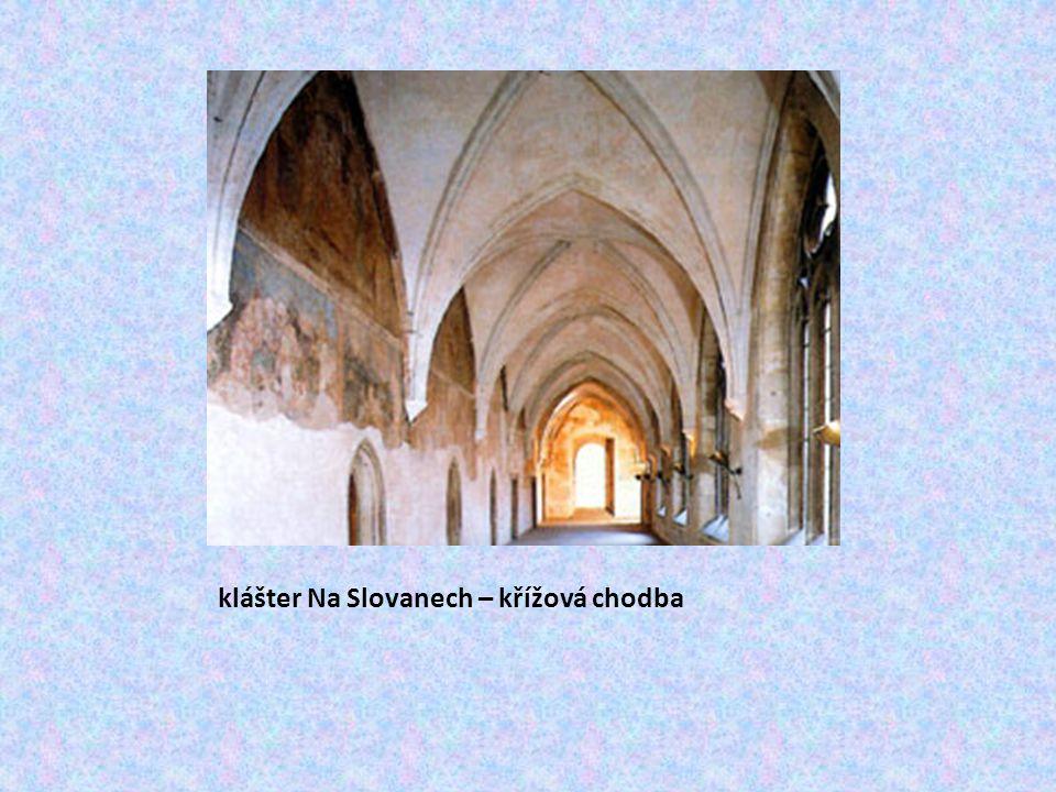 klášter Na Slovanech – křížová chodba