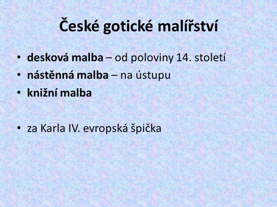 České gotické malířství