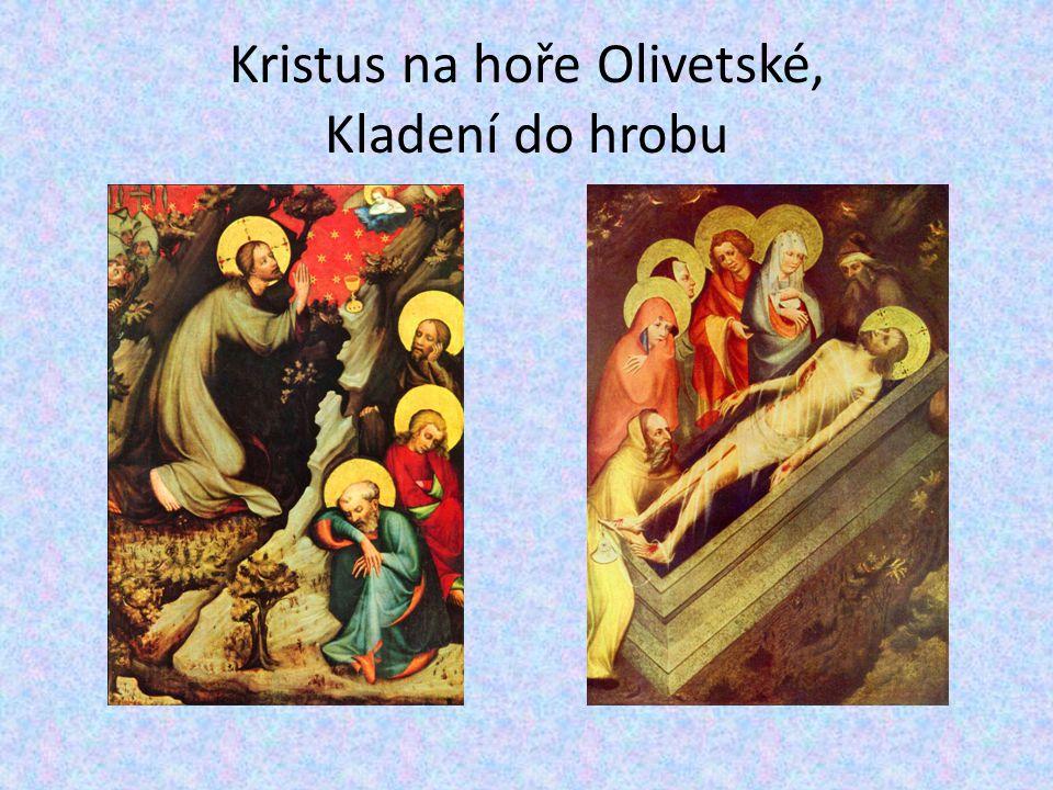 Kristus na hoře Olivetské, Kladení do hrobu