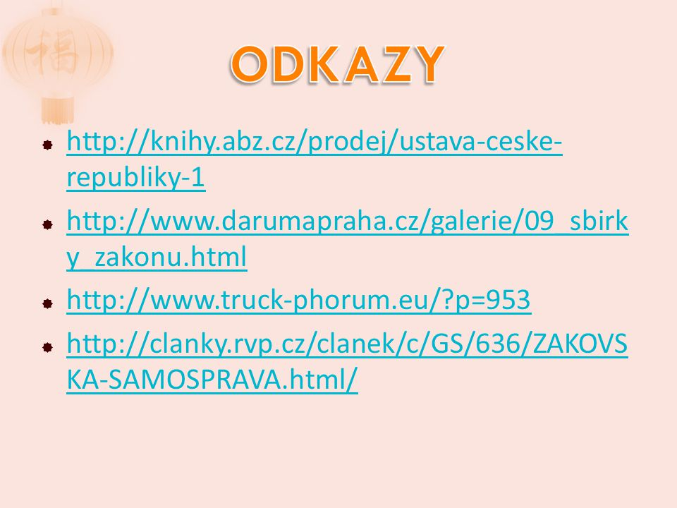 ODKAZY http://knihy.abz.cz/prodej/ustava-ceske-republiky-1