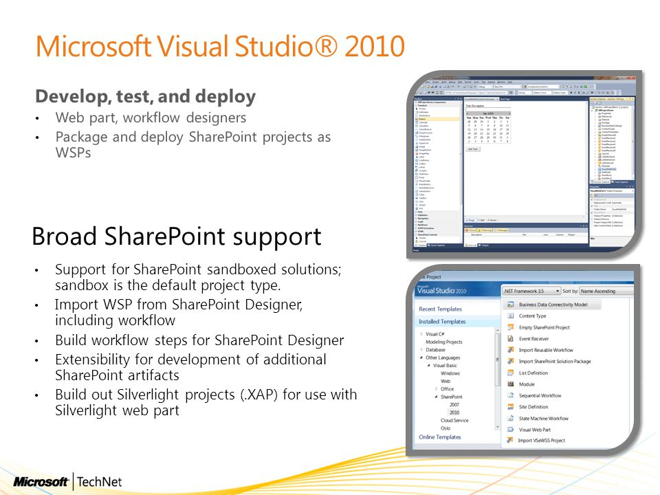 Microsoft Visual Studio® 2010
