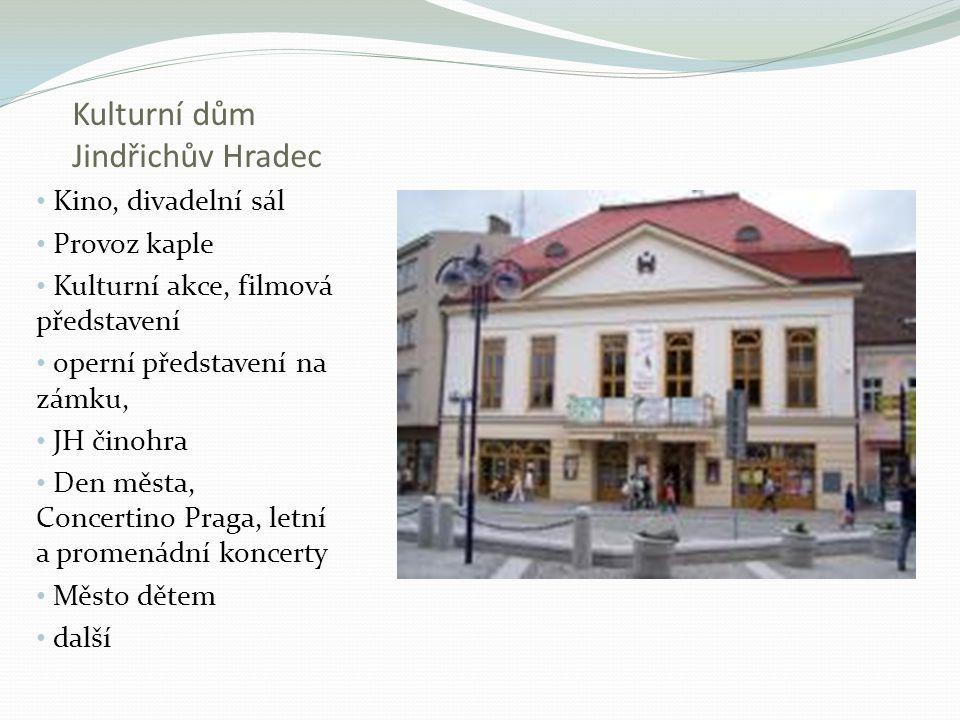 Kulturní dům Jindřichův Hradec