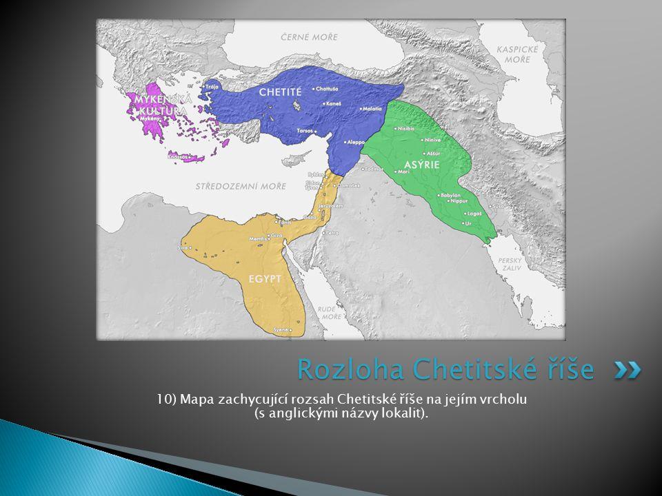 Rozloha Chetitské říše