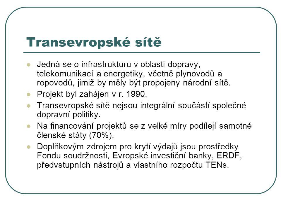 Transevropské sítě