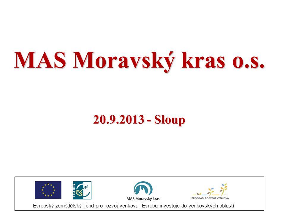 MAS Moravský kras o.s. 20.9.2013 - Sloup 1
