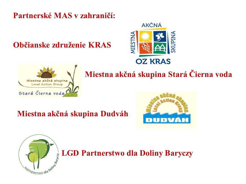 Partnerské MAS v zahraničí: