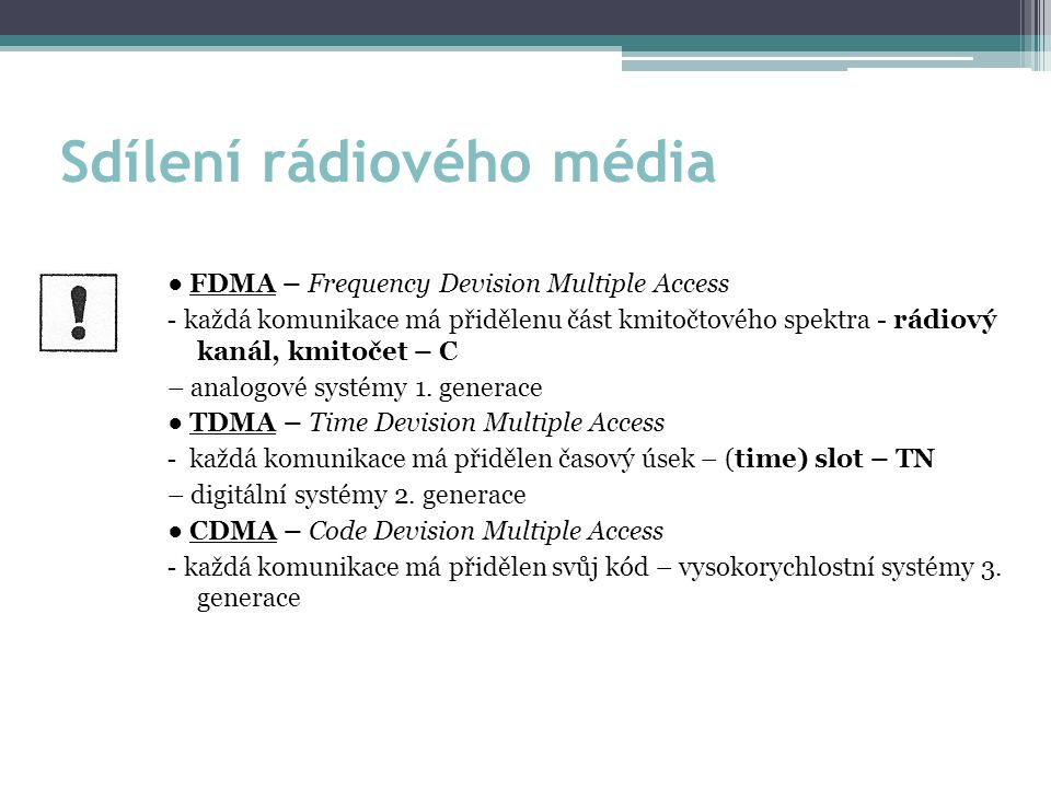 Sdílení rádiového média