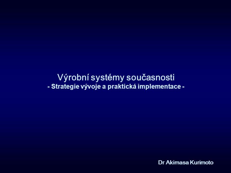 Výrobní systémy současnosti - Strategie vývoje a praktická implementace -