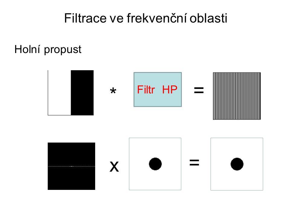Filtrace ve frekvenční oblasti