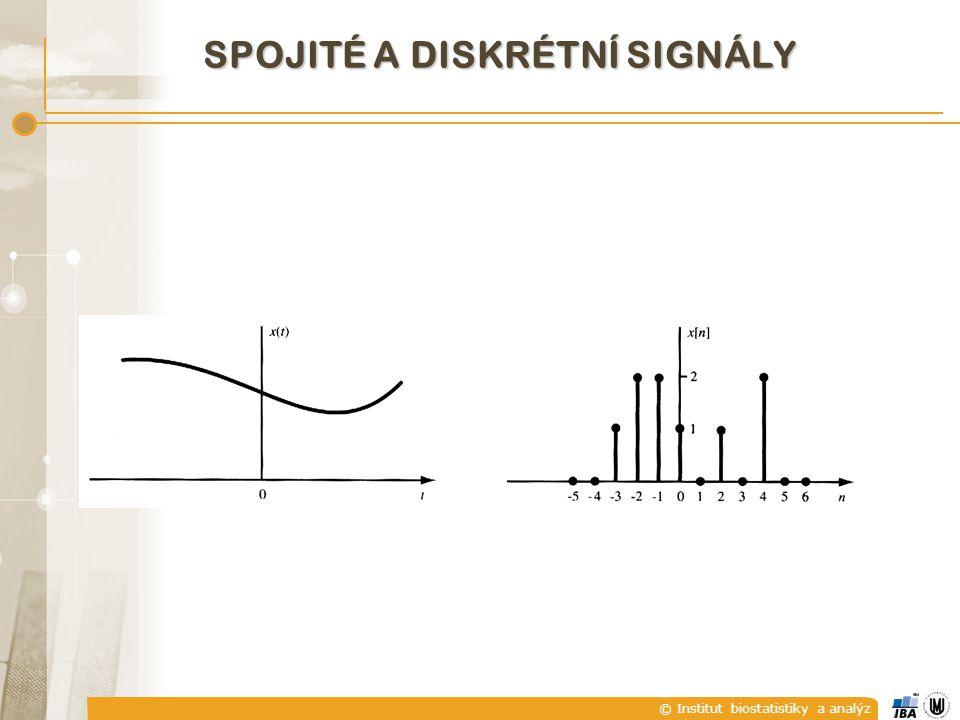 Spojité a diskrétní signály