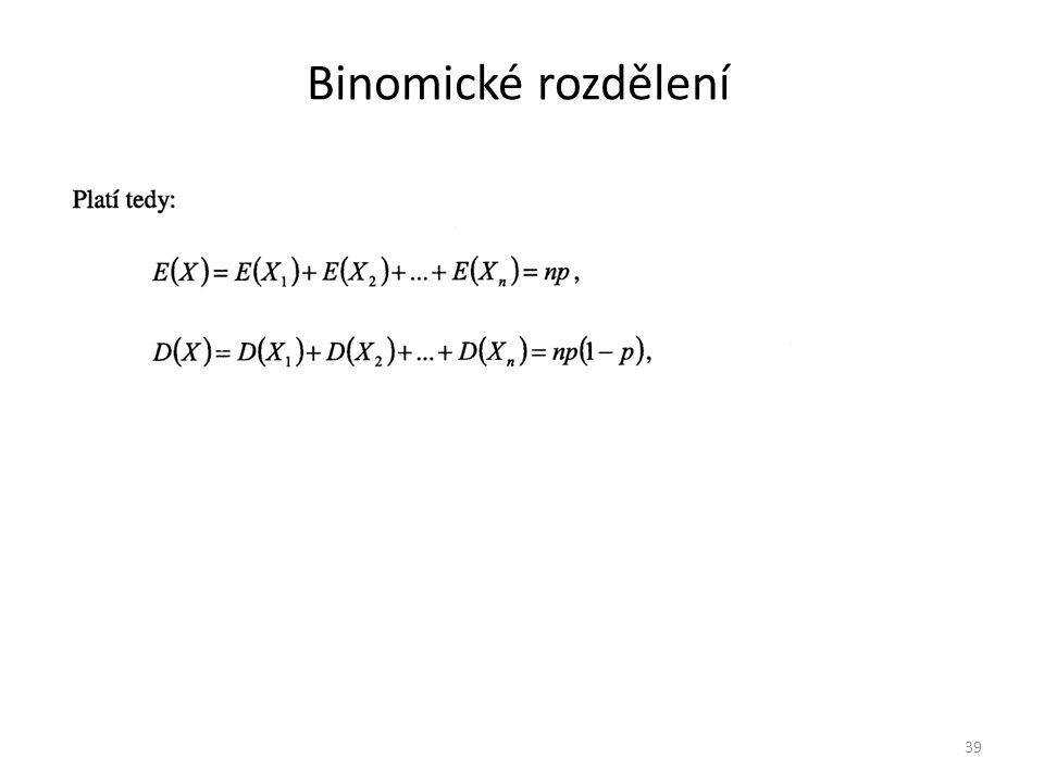 Binomické rozdělení