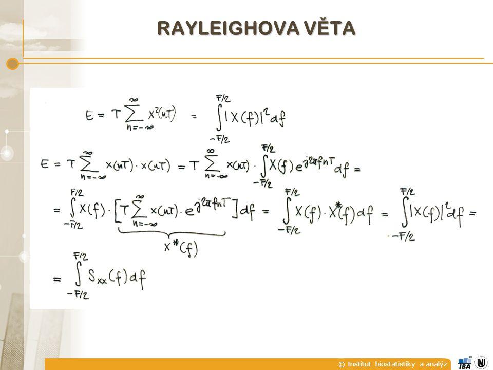 RAYleighova věta