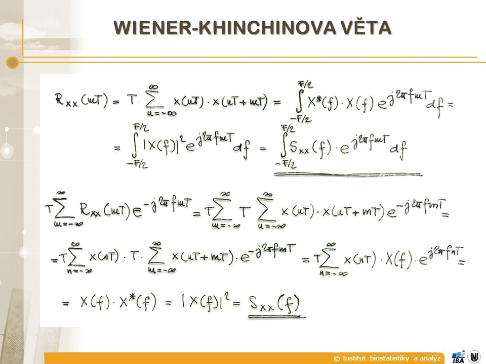 Wiener-khinchinova věta