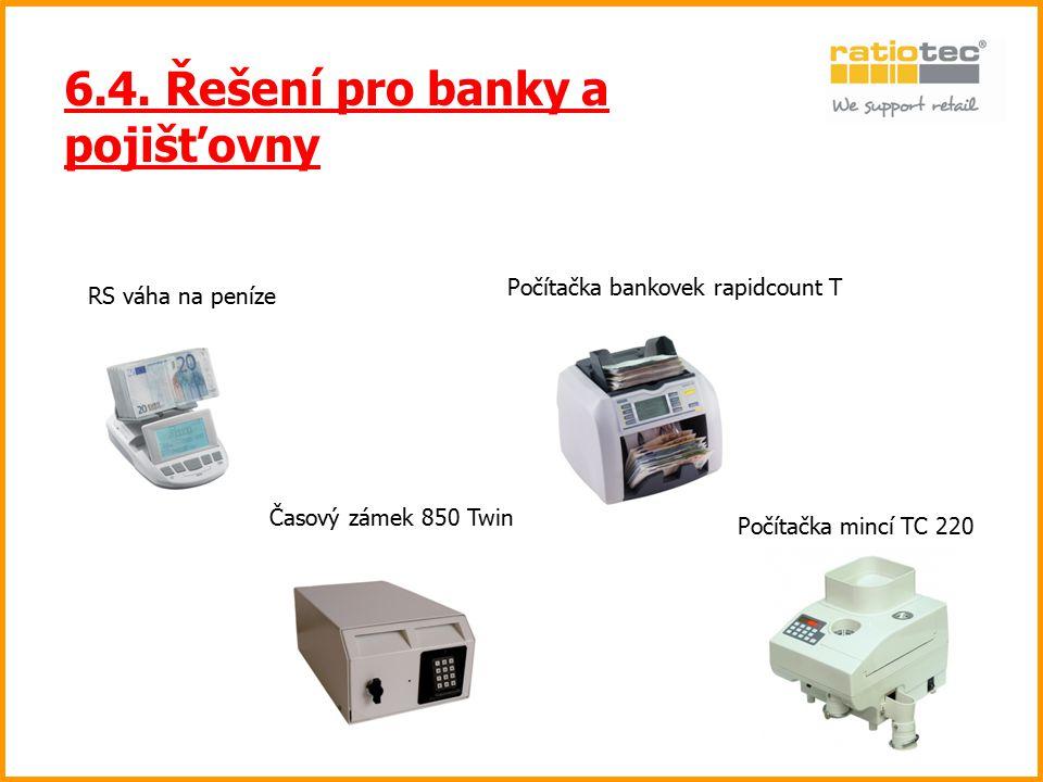 6.4. Řešení pro banky a pojišťovny