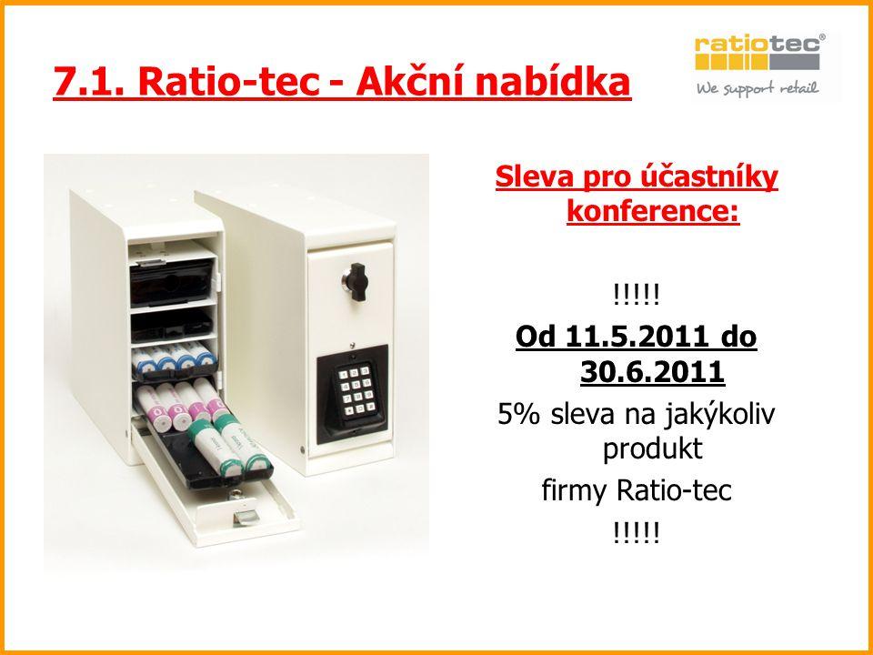 7.1. Ratio-tec - Akční nabídka