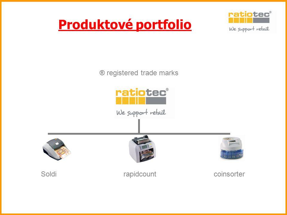 Produktové portfolio Die Marke ratiotec steht für Kompetenz und ist eine europaweit. geschützte Marke – ® registered trade mark.