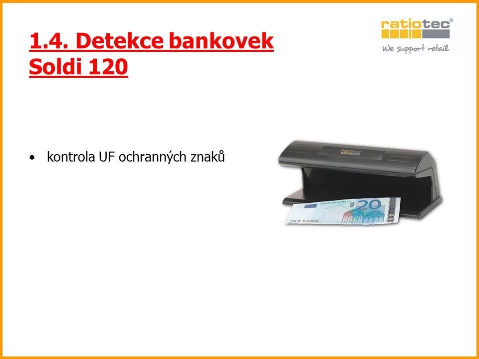 1.4. Detekce bankovek Soldi 120