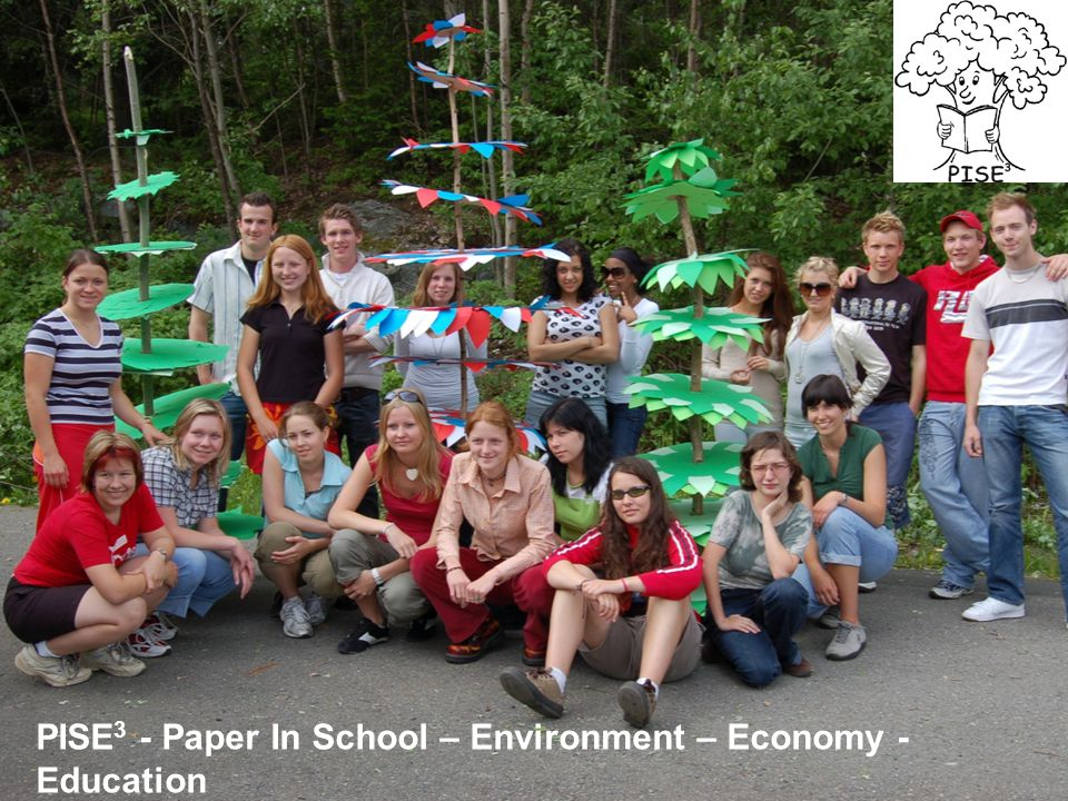 PISE3 - Paper In School – Environment – Economy - Education