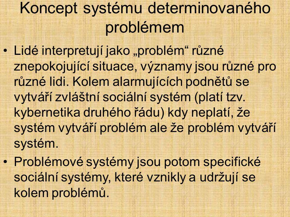 Koncept systému determinovaného problémem