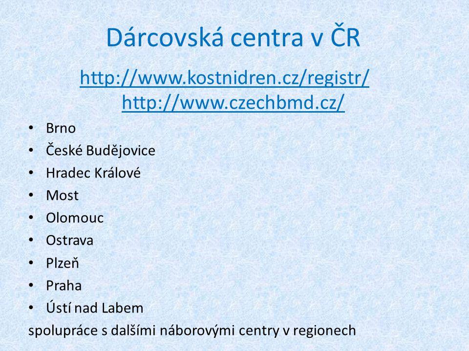 http://www.kostnidren.cz/registr/ http://www.czechbmd.cz/
