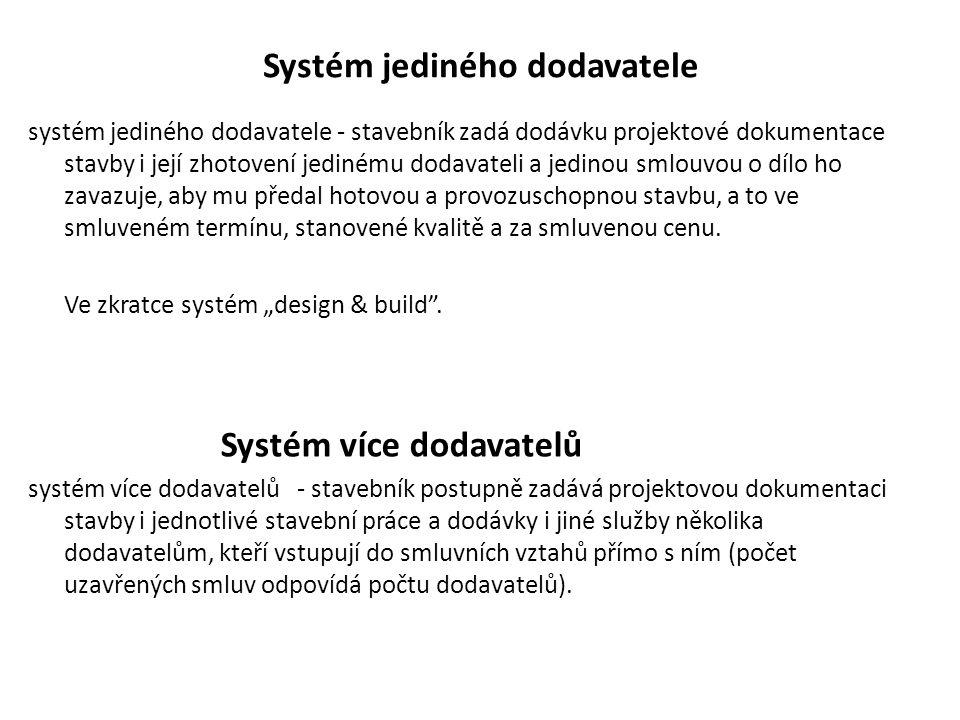 Systém jediného dodavatele