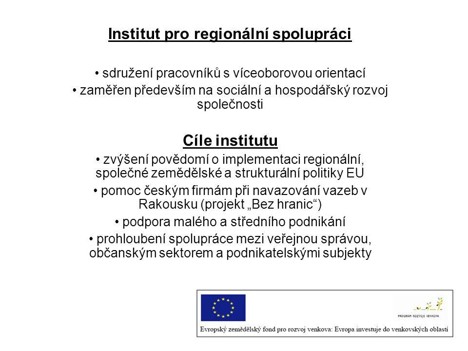 Institut pro regionální spolupráci