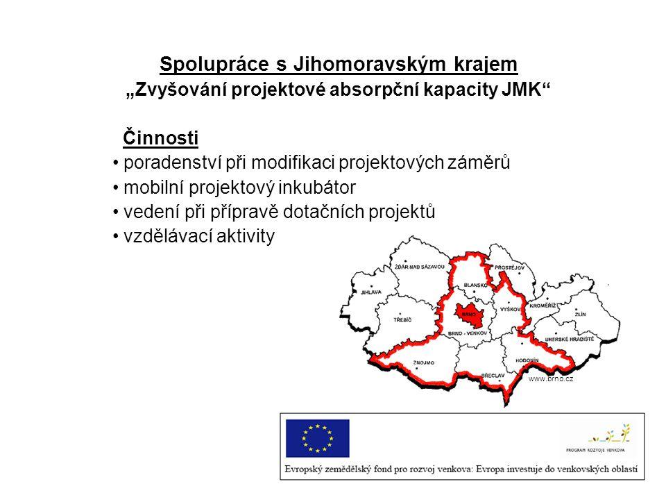 Spolupráce s Jihomoravským krajem