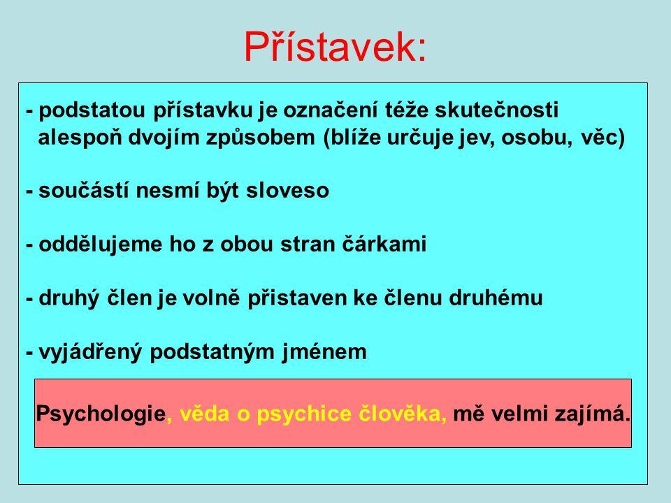 Psychologie, věda o psychice člověka, mě velmi zajímá.
