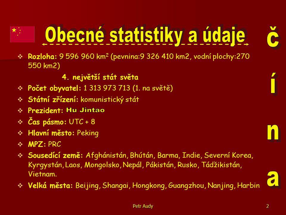 Obecné statistiky a údaje