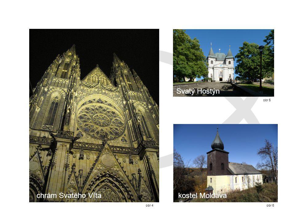 Svatý Hostýn obr 5 chrám Svatého Víta kostel Moldava obr 4 obr 6