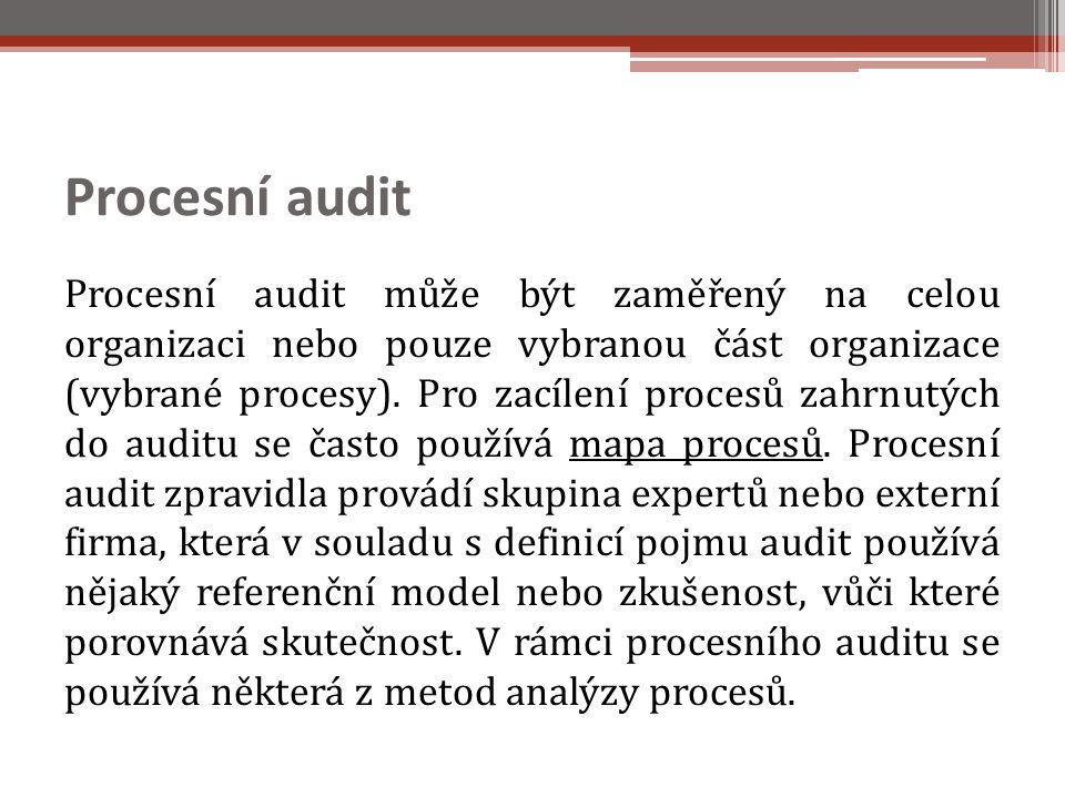 Procesní audit