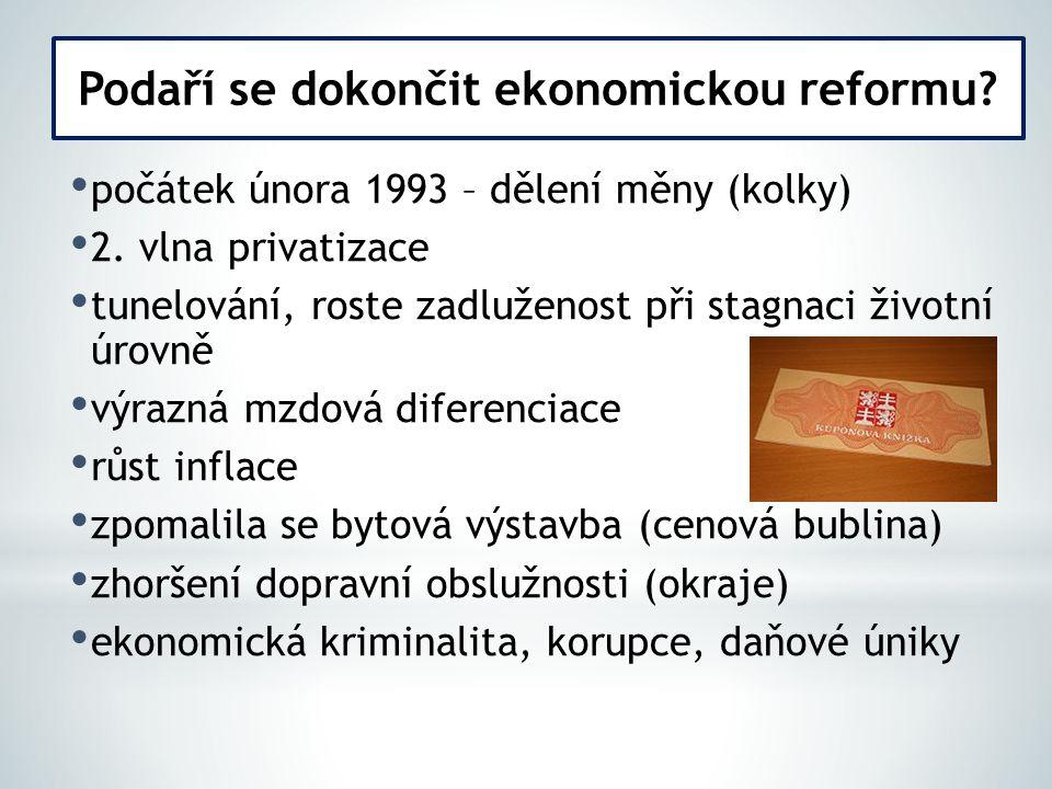 Podaří se dokončit ekonomickou reformu