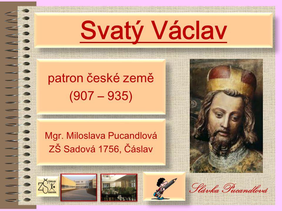 Mgr. Miloslava Pucandlová
