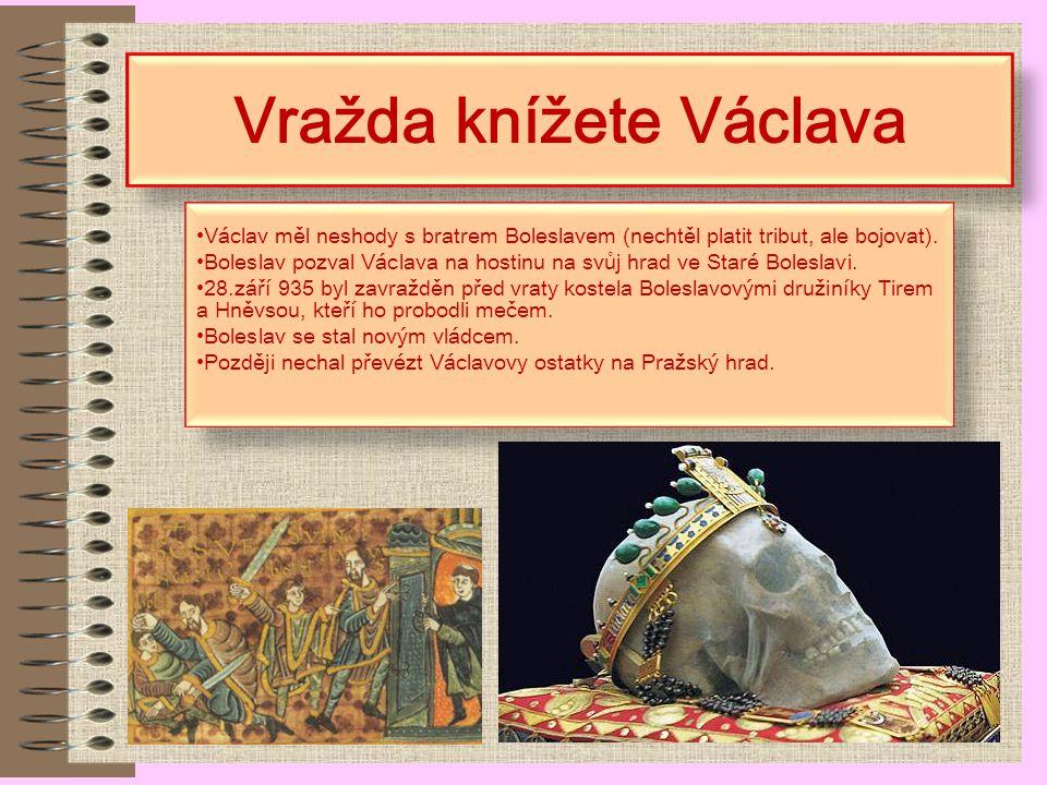 Vražda knížete Václava