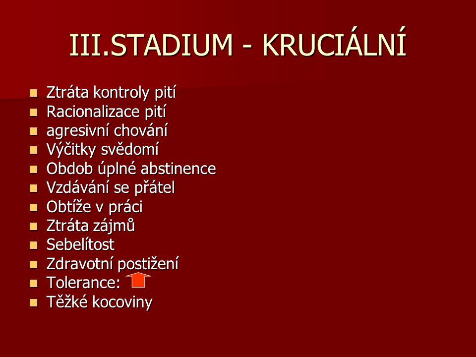 III.STADIUM - KRUCIÁLNÍ
