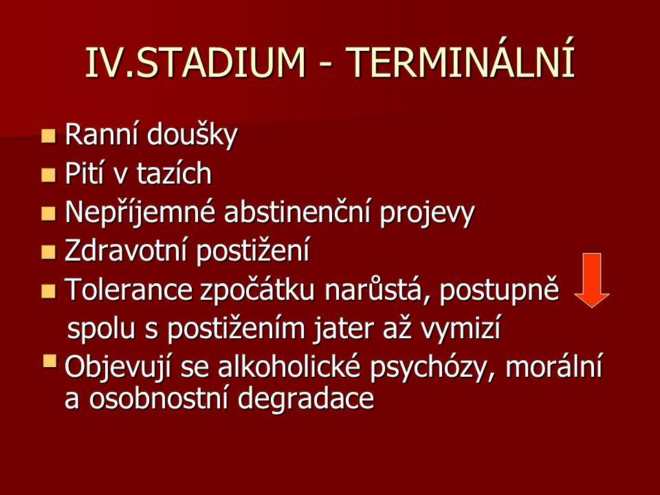 IV.STADIUM - TERMINÁLNÍ