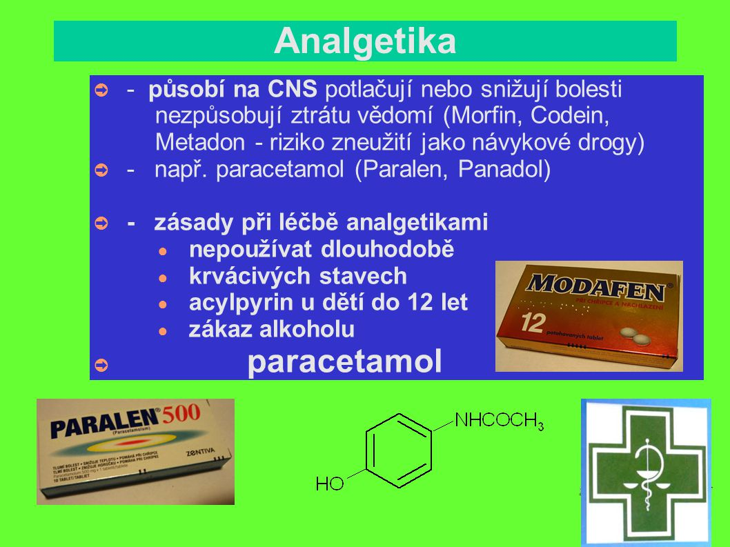 Analgetika