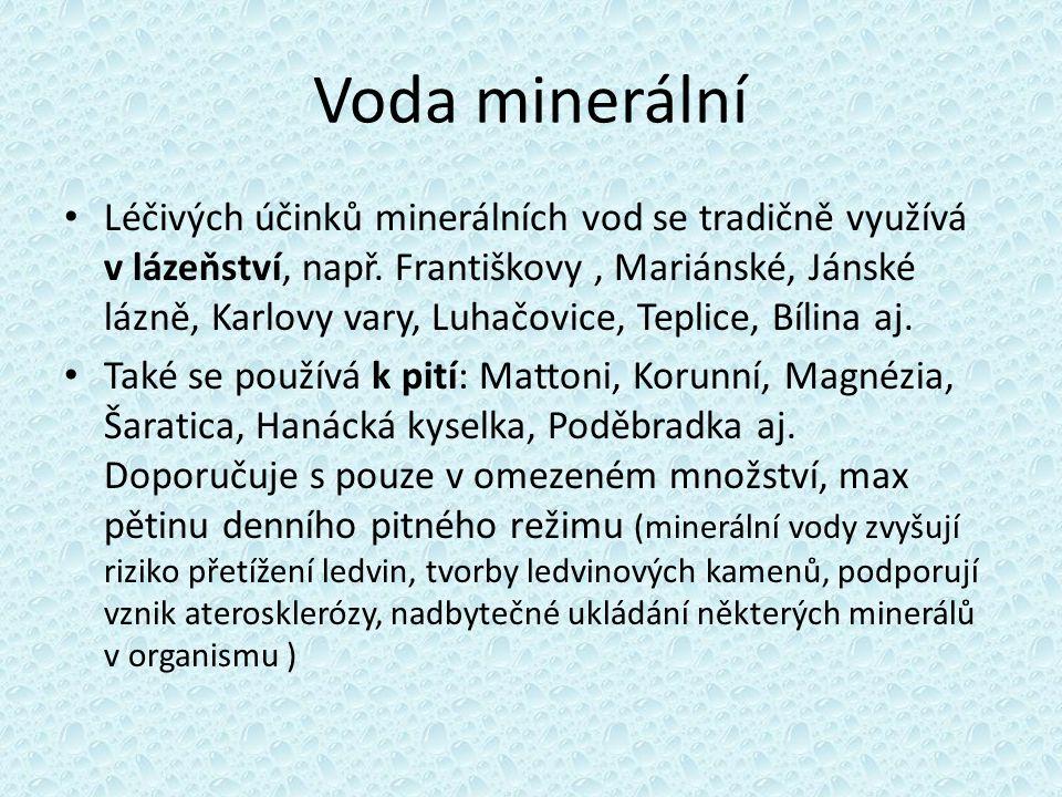 Voda minerální