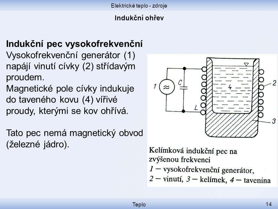 Elektrické teplo - zdroje