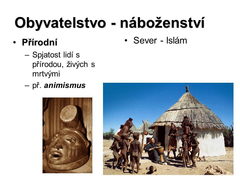 Obyvatelstvo - náboženství