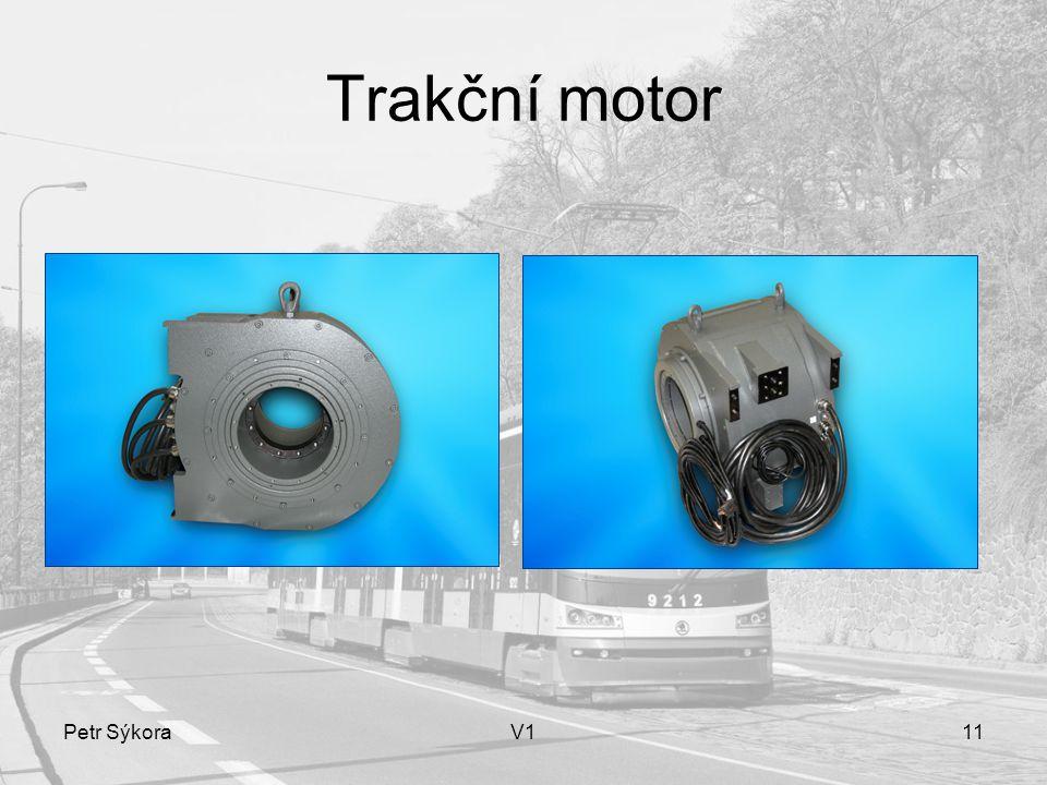 Trakční motor Petr Sýkora V1